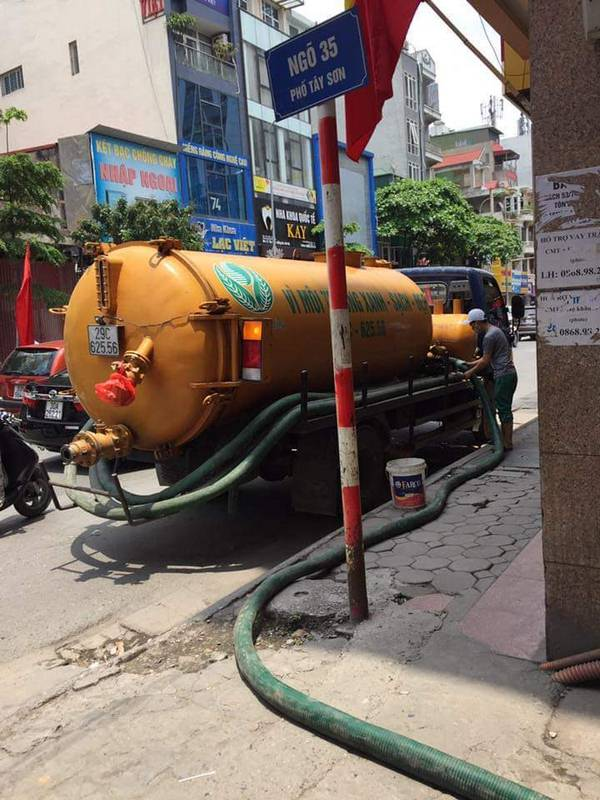 thông cống nghẹt huyện Bến Cầu