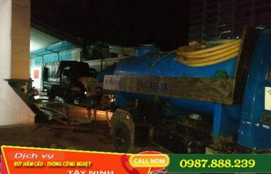 Nạo vét hố ga huyện Hòa Thành