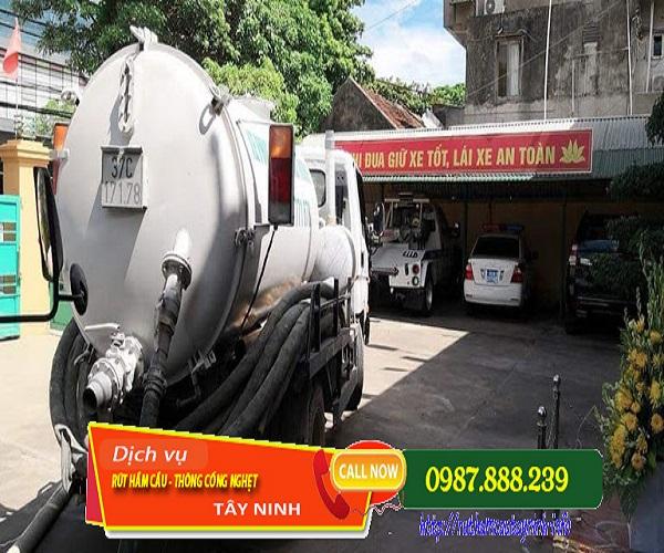 Hút chất thải huyện Trảng Bàng đáp ứng cho mọi khách hàng